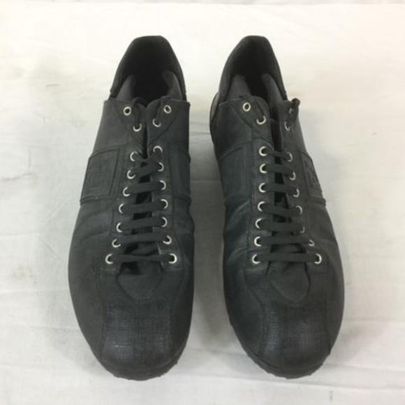 Fendi Shoes | Fendi Mens Laceups Black